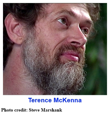 Terence McKenna . . . photo credit: Steve Marshank