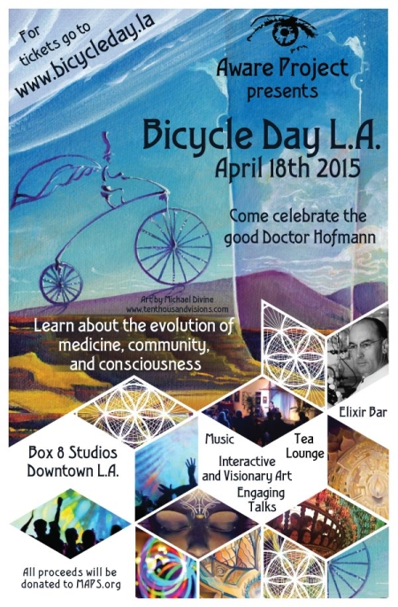 Bicycle Day in L.A. - April 18, 2015