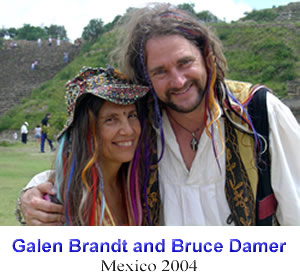 Galen Brandt and Bruce Damer - Mexico 2004