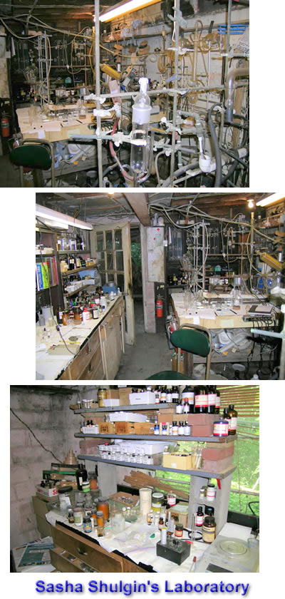 Sasha Shulgin's Laboratory