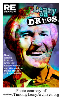 Leary on Drugs - cover ofr REsearch magazine