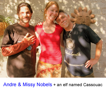 Andre &amp; Missy Nobels and Mateo Pallamary