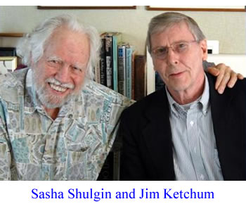 Sasha Shulgin and Jim Ketchum