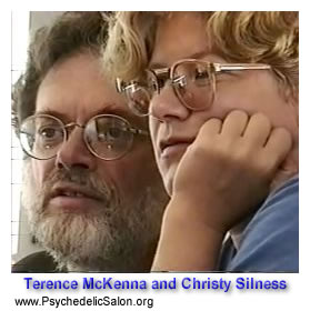 Terence McKenna and Christy Silness